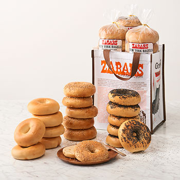 Zabar's NY Original Toasting Bagel Bag - 18 Assorted (Kosher)