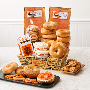 Zabar's Bagels & Nova Brunch Box