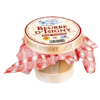Beurre D'Isigny Basket - Unsalted 250 grams