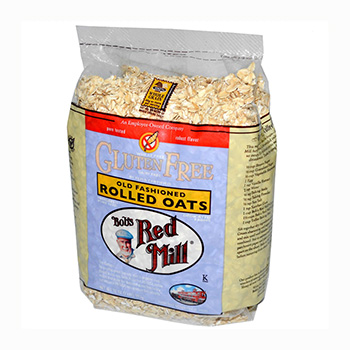 Bob's Red Mill Gluten Free Whole Grain Rolled Oats - 32oz  (Kosher)