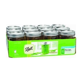 Ball Wide Mouth Can or Freeze Pint Jar #B66-S