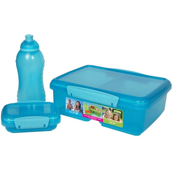 Sistema Klip it To Go Split 3-pc. Combo Pack (Blue)