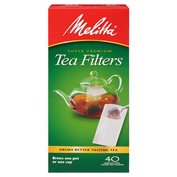 Melitta Tea Filters - 40ct  #61001