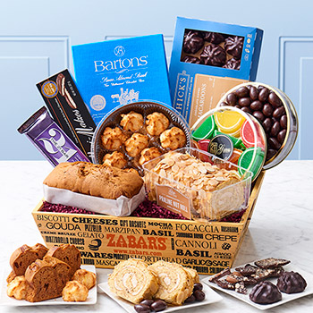 Zabar's Passover Holiday Crate (Kosher for Passover)