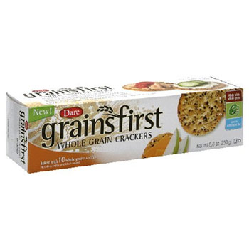 Grainfirst Whole Grain Crackers - 8.8oz (Kosher)