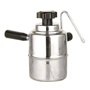 European Gifts Stove Top Steamer - Black and Silver #50SS