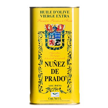 Nunez De Prado Extra Virgin Olive Oil - 33.8 oz Tin
