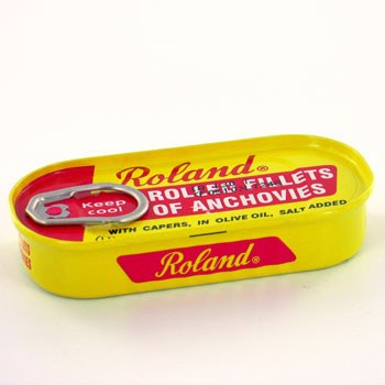 Roland Rolled Fillets of Anchovies - 2oz.