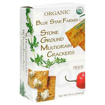 Organic Blue Star Farms Stone Ground Multigrain Crackers - 5oz (Kosher)