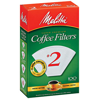 Melitta #2 Coffee Filters - (100ct.)