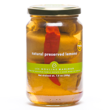 Les Moulins Mahjoub Natural Preserved Lemons 7oz