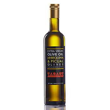 Zabar's Spanish Extra Virgin Olive Oil - 25.3 FL. OZ.