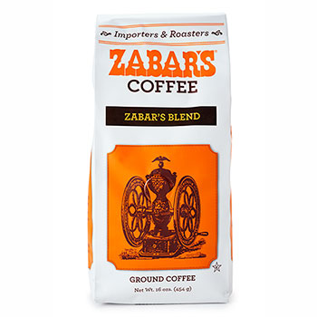 Zabar's Special Blend Vacuum Packed Coffee - 16oz  (Kosher)