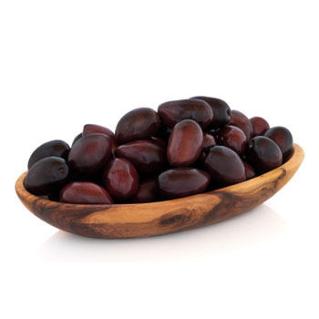 Zabar's Greek Black Olives - 10oz