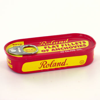 Roland Flat Fillets of Anchovies - 2oz (Kosher)