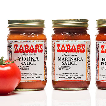 Zabar's All Natural Homemade Sauces - 16oz