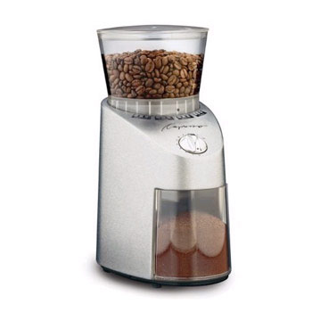 Capresso Infinity Conical Burr Grinder - Stainless Steel #565