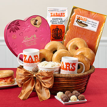 Zabar's Valentine's Breakfast for Two