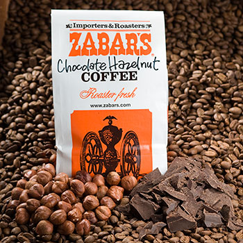 Chocolate Hazelnut Coffee - 16oz (Kosher)
