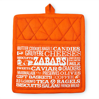 Zabars Printed Pot Holder - 8x8.5""