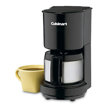 Cuisinart 4-cup Coffeemaker Brushed SS #DCC-450BK