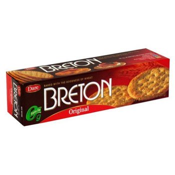 Breton Original Wheat Crackers - 8oz (Kosher)