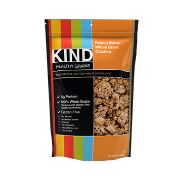 Kind Healthy Grains, Peanut Butter Clusters - 11oz (Kosher)