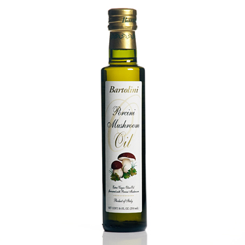Bartolini Extra Virgin Olive Oil with Porcini Mushroom 8.4 Fl.OZ.