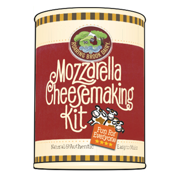Mozzarella Cheese Making Kit by Roaring Brook Dairy