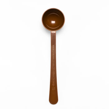 Zabar's Plastic Brown Coffee Scoop #232