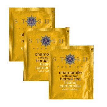Stash Premium Chamomile Caffeine Free Herbal Tea - 20 Ct. (Kosher)