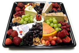 Zabars Cheese and Fruit