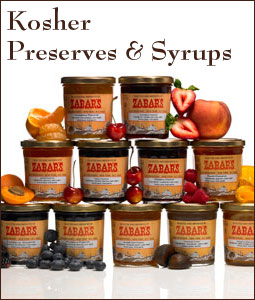 Kosher Preserves and Syrups