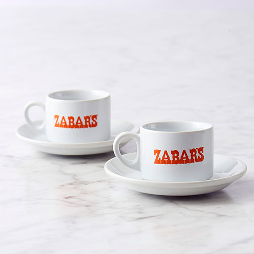 Zabar's Espresso Mug Set of 2 #1013004PZ-1949, , large