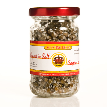 Agostino Recca Capers in Salt - 2.2oz, , large