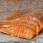 Zabar's Handsliced Peppered Nova Salmon