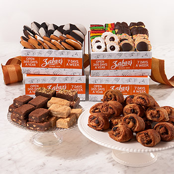 Zabar's Bakery Box Tower (Kosher)