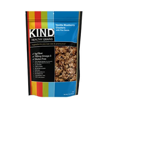 Kind Healthy Grains, Vanilla Blueberry Clusters with Flax Seeds - 11oz (Kosher), , large