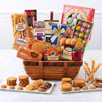 Gourmet gift baskets order a gourmet gift basket at zabars the appreciation basket negle Images