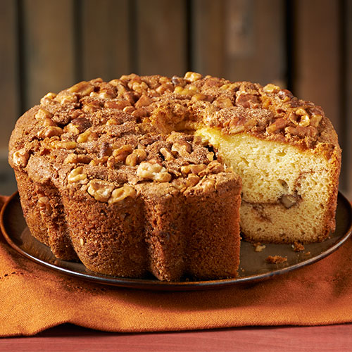 Zabar's Original Cinnamon Walnut Coffee Cake  28 oz., 8 in. (Kosher), , large