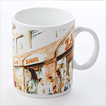 Zabars Design Porcelain Mug - 16oz