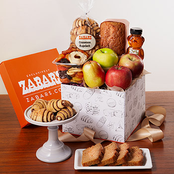 Zabars Apples and Honey Gift Box, , large