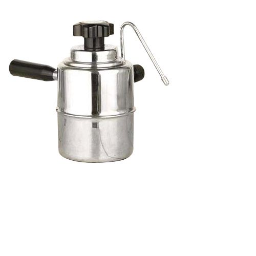European Gifts Stove Top Steamer - Black and Silver #50SS, , large