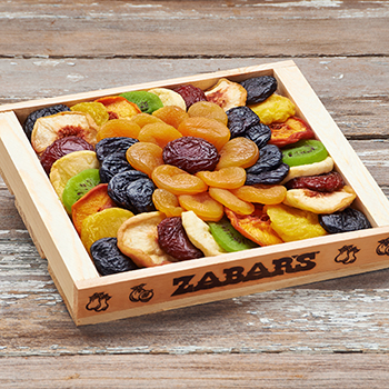 Zabar's Dried Fruit Tray - 1lb 8oz - #384, , large