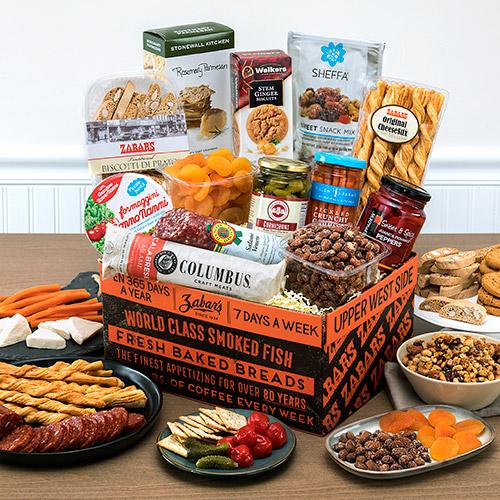 Central Park Basket & Gourmet Gift Baskets - Order a Gourmet Gift Basket at Zabars