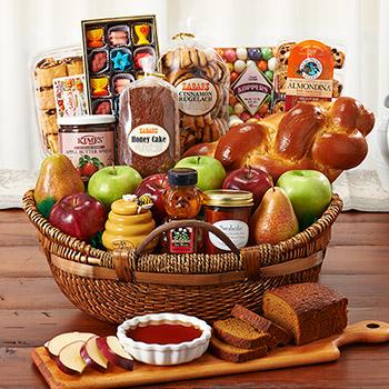 L Shana Tova Basket Kosher