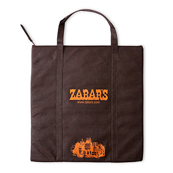 Zabar's Large Insulated Flat Tote (18x19), , large
