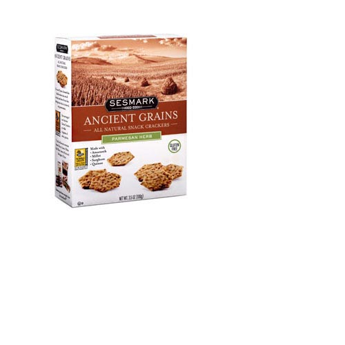 Sesmark Ancient Grains Snack Crackers - 3.5oz (Kosher), , large