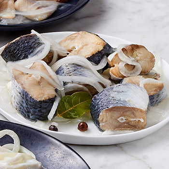 Zabar's Pickled Herring in Clear Sauce 2-fillets