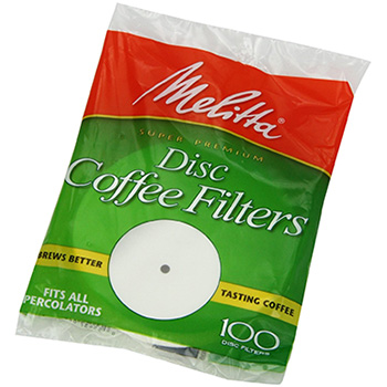 Melitta Disc Coffee Filters - (100ct.), , large